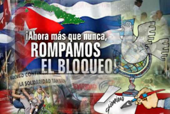 Movimiento de solidaridad con Cuba convoca a jornada contra bloqueo
