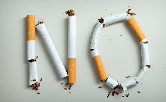 Con el cigarro, mejor ni empezar