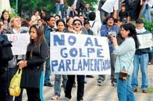 Foro Paraguay Resiste coordinará resistencia al golpe parlamentario