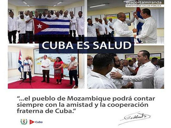 Médicos cubanos respaldarán atención a damnificados por ciclón en Mozambique