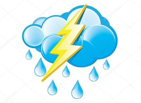 Calor, chubascos y tormentas eléctricas en el occidente y centro de Cuba