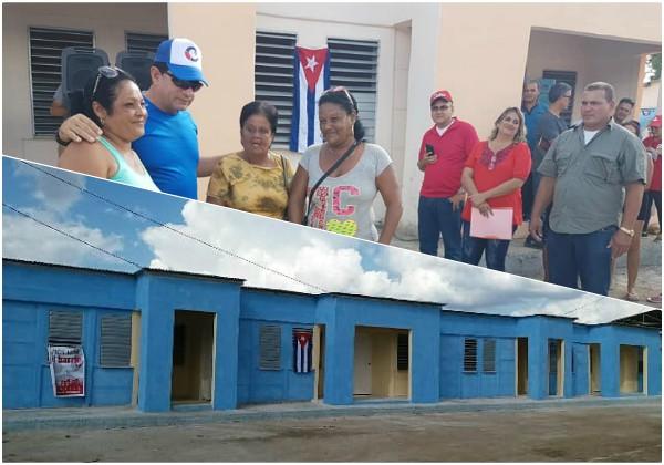 Obras sociales en Camagüey para celebrar el cumpleaños de la Revolución cubana (+Fotos)