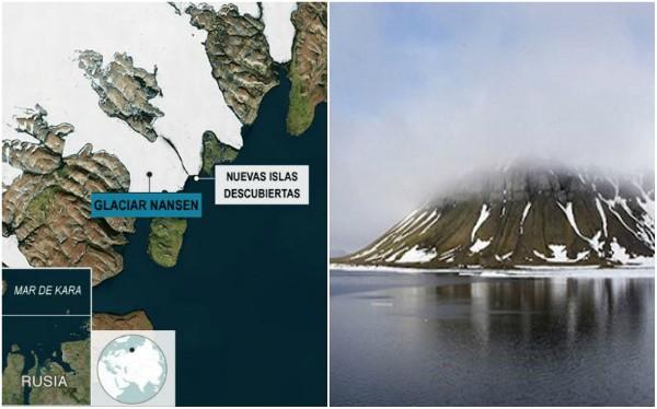 Confirman en Rusia descubrimiento de nuevas islas en el océano Ártico