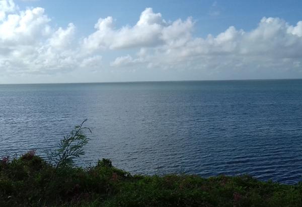 Dentro de unas horas ese mar no estará en calma.