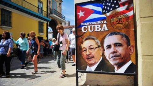 Respaldan estadounidenses histórica visita de Obama a Cuba