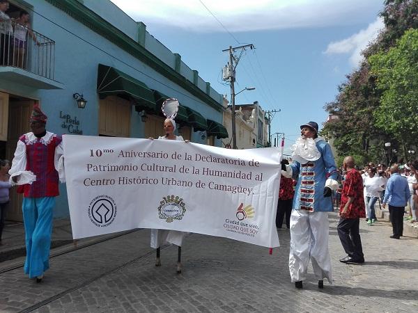 Centro histórico de Camagüey celebra una década en la Lista del Patrimonio Mundial (+ Fotos)