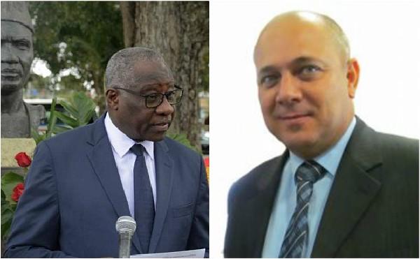 Vicepresidente cubano recibe al Canciller de la República de Guinea