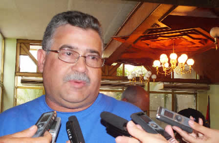Omar Ruiz Martín, integrante del secretariado del Comité Central del Partido (FOTO: Pedro Paneque Ruiz)
