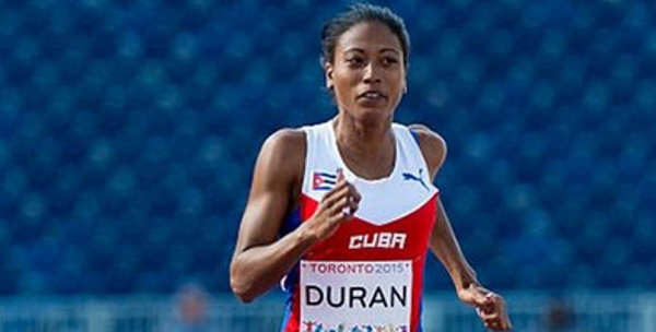 Cubana Durand gana los 200 metros en Mundial para atletas discapacitados