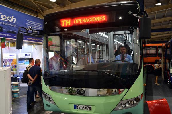 Positiva etapa de prueba para primer ómnibus eléctrico chino en Cuba