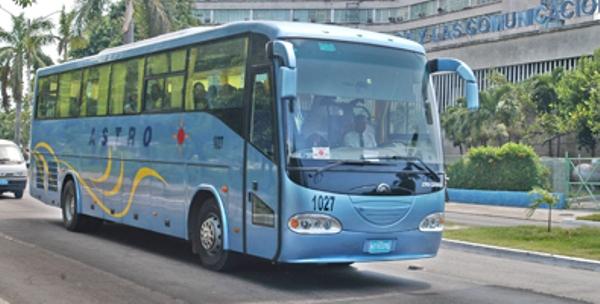 Dispondrán los cubanos de capacidades adicionales en ómnibus este verano