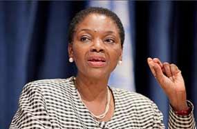 Valerie Amos, secretaria general adjunta de Naciones Unidas.