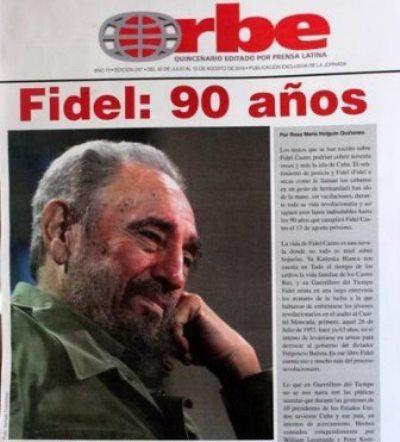 Dedican a  Fidel Castro publicación periódica que circula en México