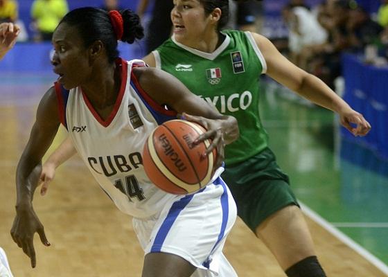 Leydis Oquendo representa a Camagüey en Campeonato Centrobasket 2018