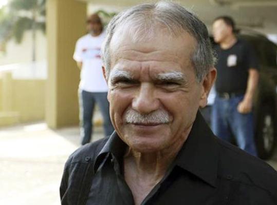 Raúl Castro receives Puerto Rican independence leader Oscar López