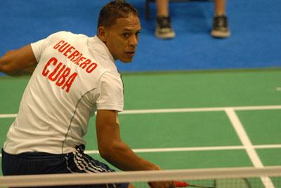 Debuta hoy badmintonista cubano en torneo internacional