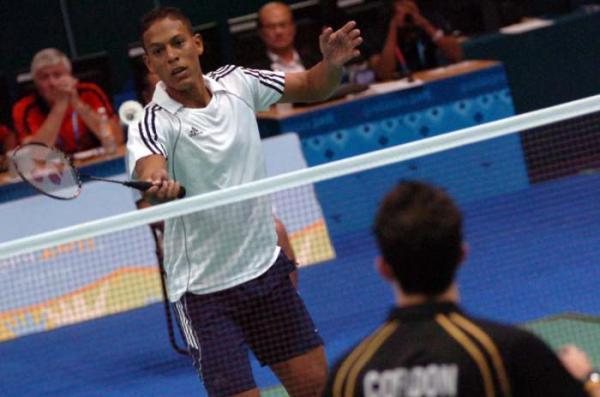 Badmintonista cubano Osleni Guerrero participará en Torneo de Perú