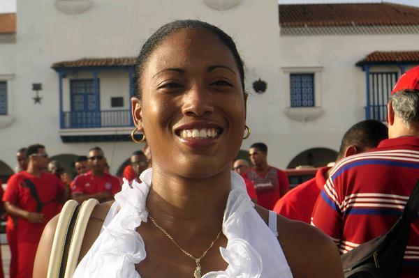 Cubana Omara Durand aspira a reinar en las Paralimpiadas del 2020