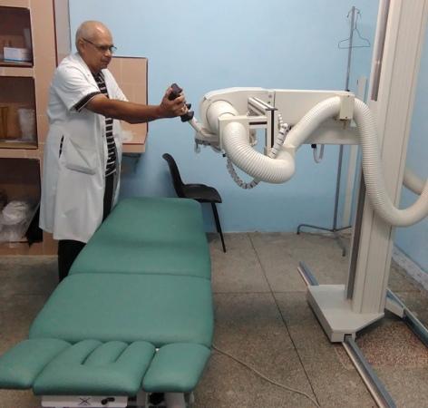Modernos y costosos equipos que coadyuvarán a un mejor servicio de Salud.