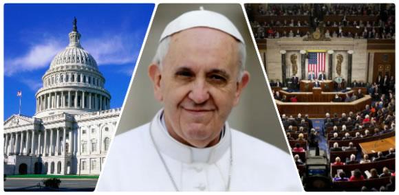 Intervino el Papa Francisco ante sesión conjunta del Congreso de EE.UU.
