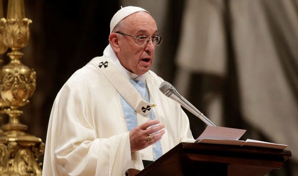 Pope Francis called to promote a culture of peace among nations