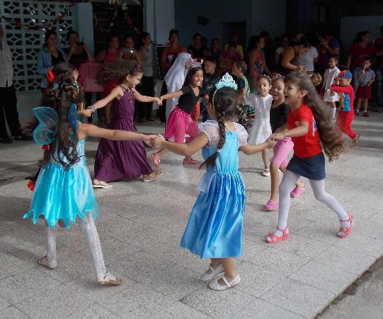 Fiesta infantil en Camagüey celebra aniversario 58 de los círculos infantiles