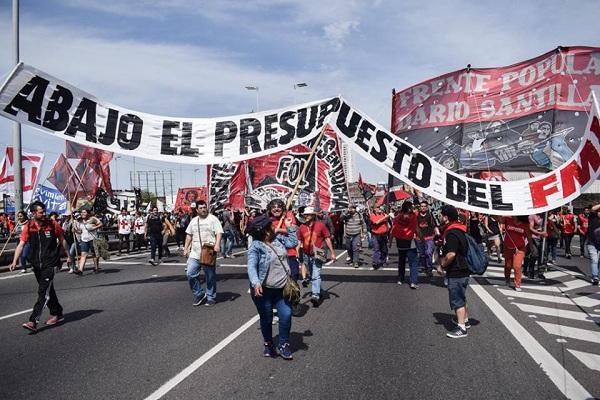 Paro nacional en Argentina en protesta a políticas económicas de Macri