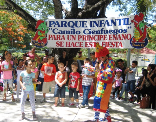 Parque infantil Camilo Cienfuegos acoge la alegría de niños camagüeyanos