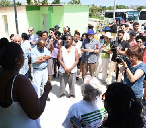 Agradecen solidaridad de Pastores por la Paz damnificados del tornado en capital cubana