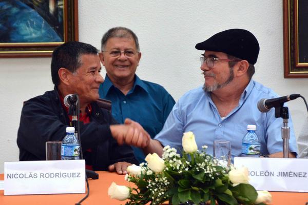 Guerrillas colombianas acuerdan en Cuba continuar trabajando en busca de paz definitiva