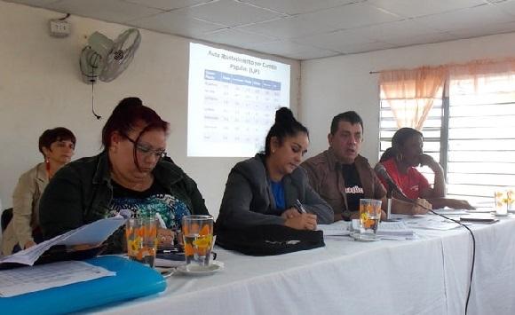 Máximas autoridades de Camagüey intercambian con delegados del Poder Popular en Najasa
