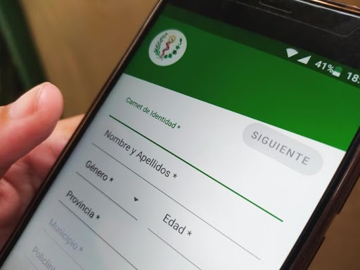 Auto-diagnosis on Covid-19 available through Cuban app