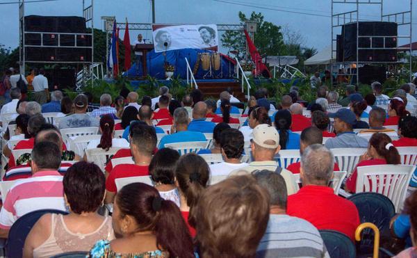 Movimiento Sindical cubano rinde tributo al Guerrillero Heroico