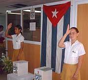 Elecciones en Camagüey, Cuba, día de compromiso con la Patria