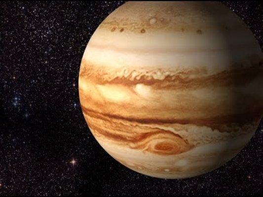 El planeta más antiguo del Sistema Solar es Júpiter