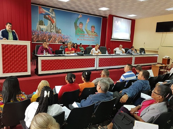 Analiza Pleno del Partido Comunista en Camagüey la producción de alimentos