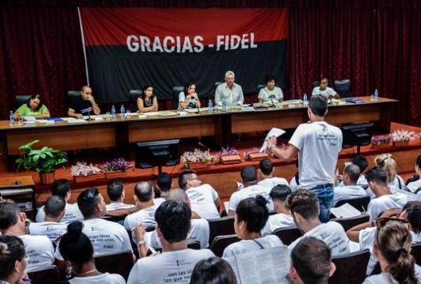 Estudiantes cubanos comprometidos con el futuro de la nación (+ Fotos)