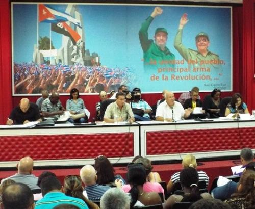 Pleno partidista en Camagüey analiza gestión económica del primer semestre