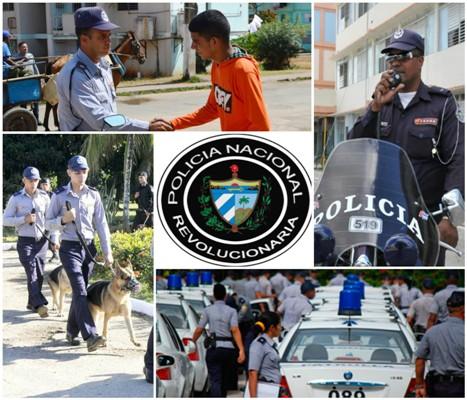 Comenzó hoy en Cuba Jornada Nacional por aniversario 60 de la Policía Nacional Revolucionaria