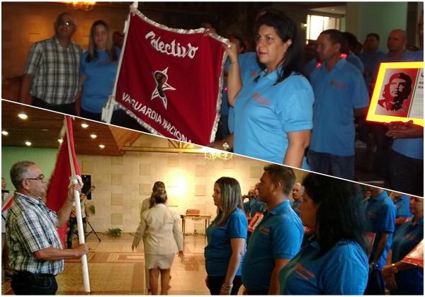 Vanguardia Nacional el colectivo de la Empresa Porcina Camagüey