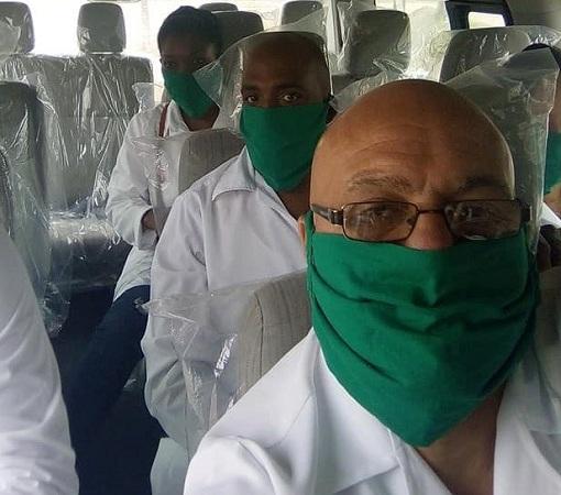 En Belice, el camagüeyano Adalberto Lluch pone en alto la Salud Pública cubana (+Audio y Fotos)
