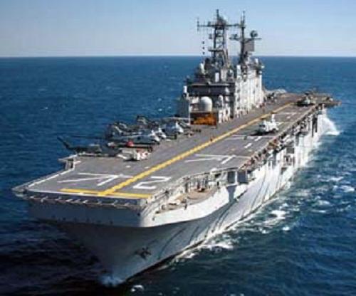 Envía Estados Unidos portaaviones a Península de Corea