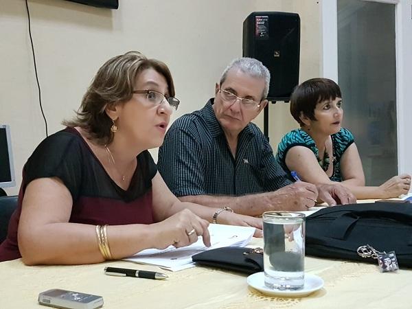 Intercambia Alina Balseiro con integrantes de Consejos Electorales en Camagüey (+ Fotos)