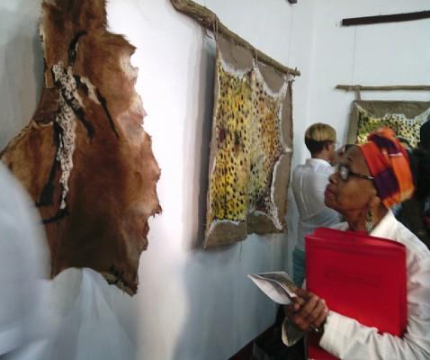 Una orden secreta de africanos, nueva exposición del camagüeyano Eduardo Rosales (+ Audio y Fotos)