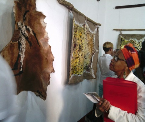 A secret order of African, new exhibition of the camagüeyano Eduardo Rosales (Photos)