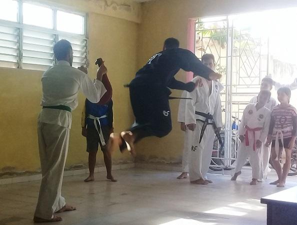 Potencian en Camagüey la práctica del Taekwondo para mitigar padecimientos crónicos (+ Audio y fotos)