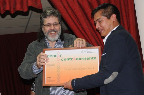 Premian a ganadores del Concurso Internacional de Ensayo Pensar a contracorriente