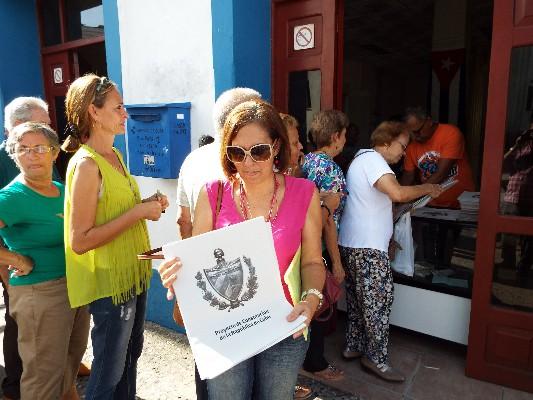Destacan en Camagüey papel de la mujer en proceso de Reforma Constitucional (+Audio)