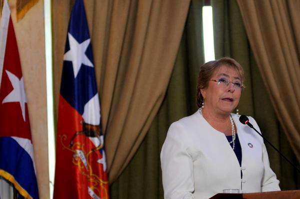 Mandataria chilena expresa interés por afianzar nexos económicos con Cuba