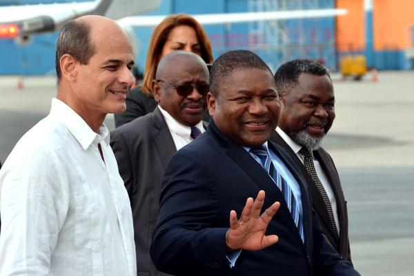 En Cuba el Presidente de Mozambique